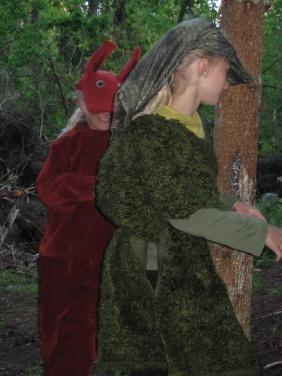 naturnatten 2009 5 sagostund paddan och ekorren pa vag till berget